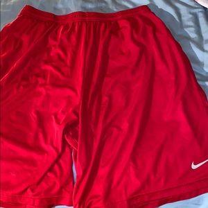 Nike dri fit shorts.